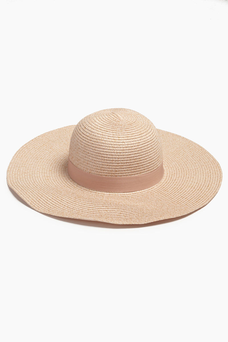 DAVID & YOUNG Floppy Sun Hat - Pink Hat | | David & Young Floppy Sun Hat - Pink front view