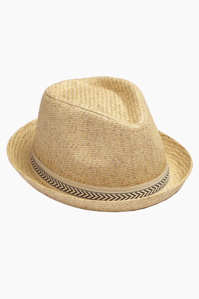 DAVID   YOUNG Straw Pork Pie Hat - Sand  3b075184a74