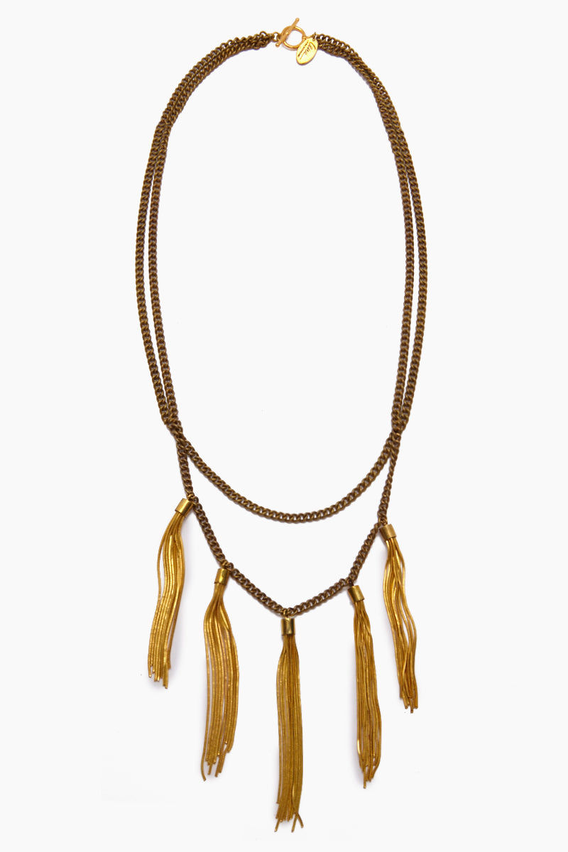 LENA BERNARD Gigi Necklace - Gold Jewelry | Gigi Necklace - Gold