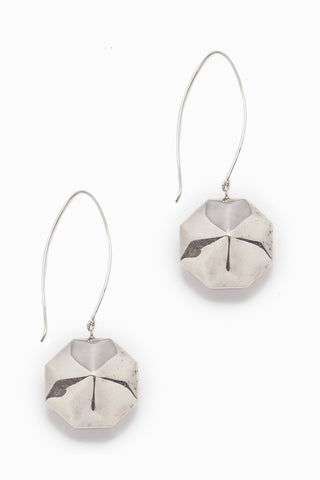 LENA BERNARD Mattie Silver Disc Dangle Earrings Jewelry | Mattie Earring - Silver