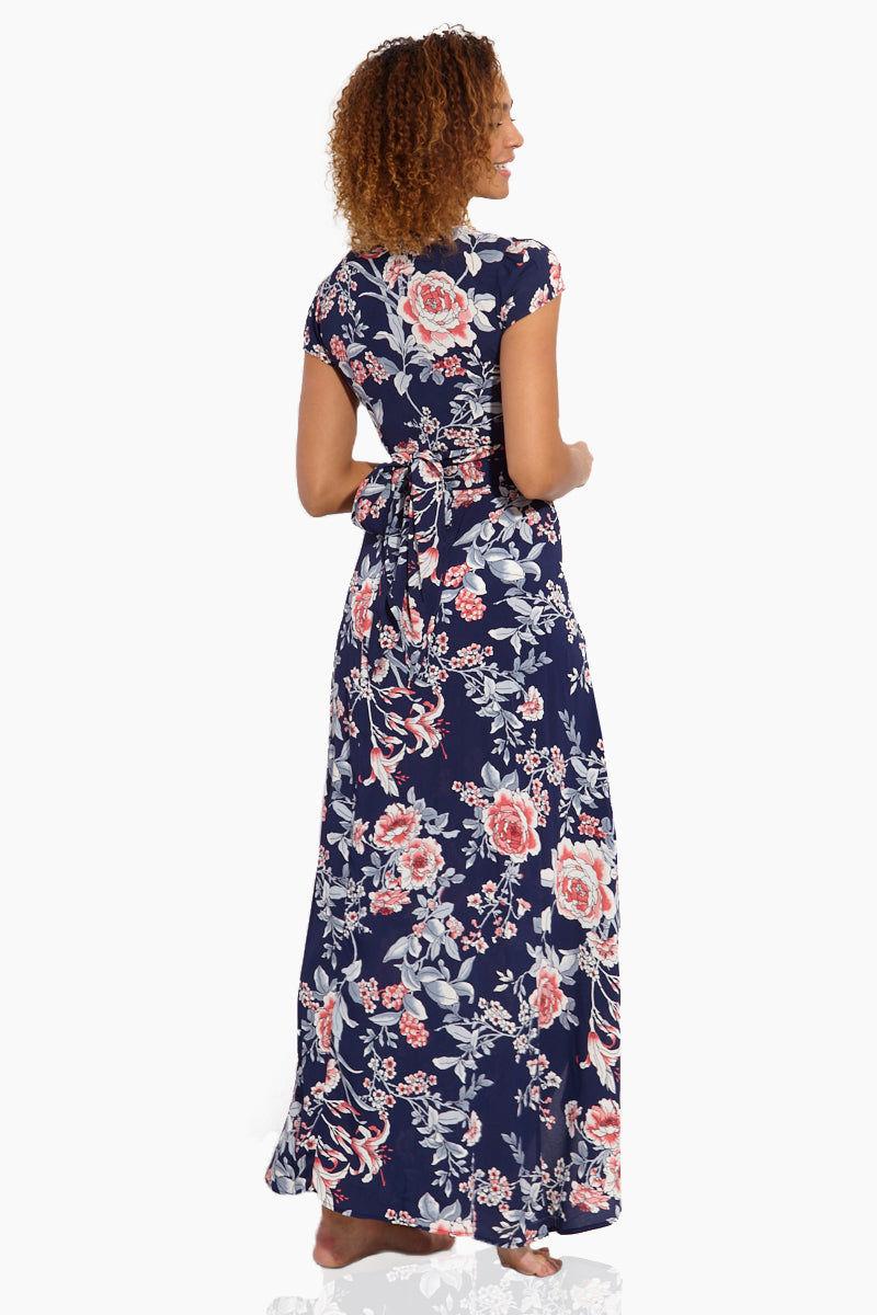 FLYNN SKYE Wrap It Up Skirt - Rosey Waters Skirt | Rosey Waters| Flynn Skye Wrap It Up Skirt - Rosey Waters Back View Full Length Skirt  Wrap Style Slit in the Front