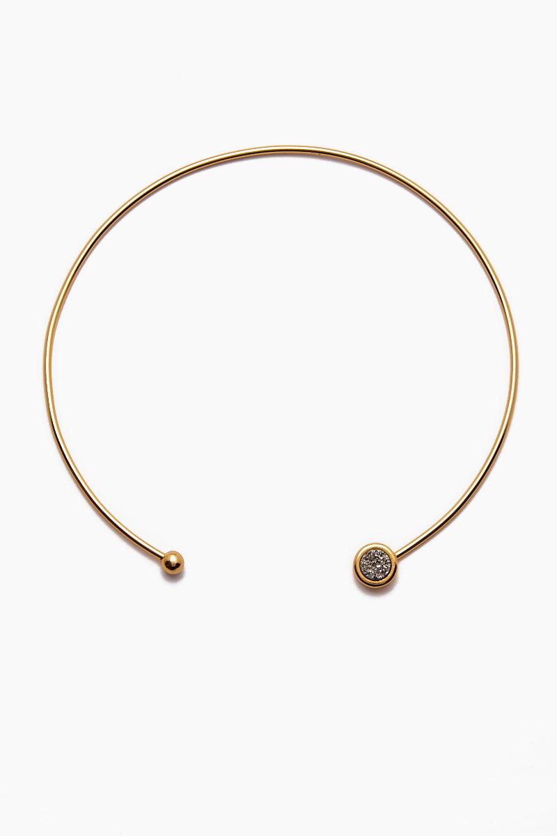 BRENDA GRANDS JEWELRY Vinca Choker Jewelry | Gold| Brenda Grands Vinca Choker