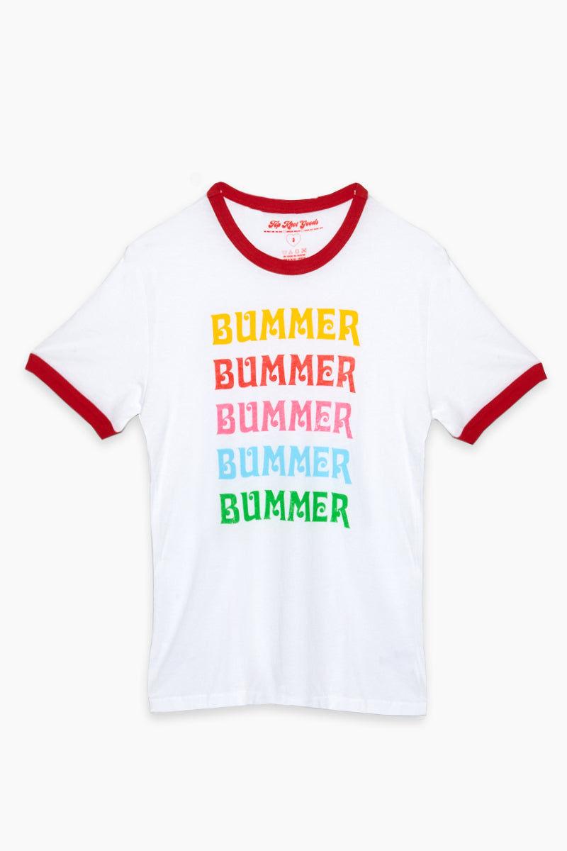 TOP KNOT GOODS Bummer Ringer Tee Top | Bummer Ringer Tee
