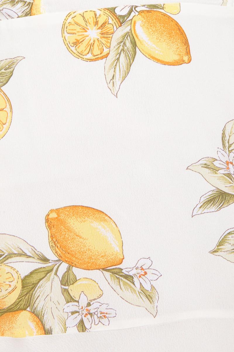 "FOR LOVE AND LEMONS Lemonade Mini Dress - Lemon Dress | Lemon|Lemonade Mini Dress - Features: Elasticized neckline Underwire cups Boned bodice Hidden back zipper closure Neckline to hem measures approx 24"" in length Fully lined"
