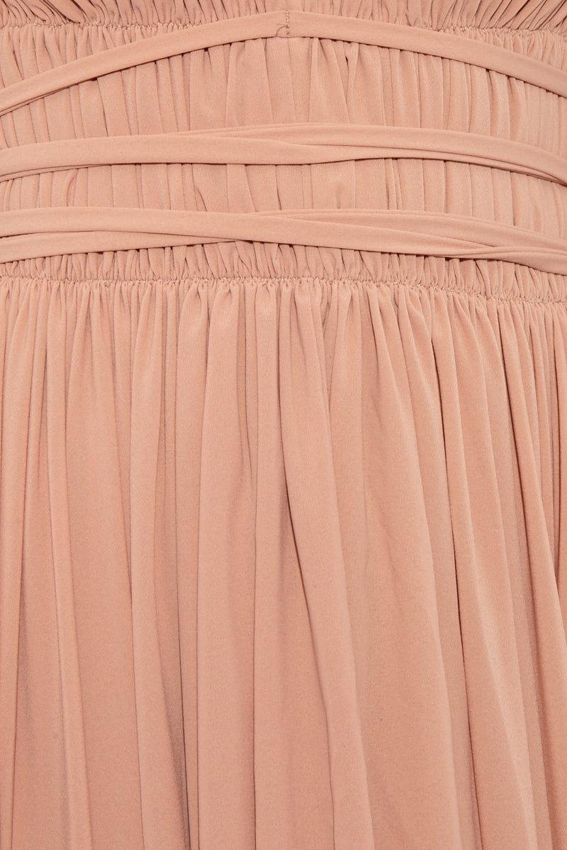 NORMA KAMALI Goddess Dress - Rose Dress | Goddess Dress - Rose