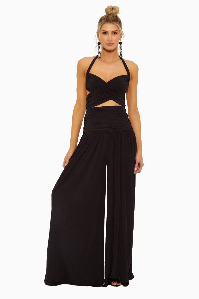 Body Wrapper Girls Full Length Strap Nylon Overalls