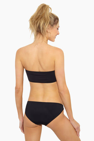 BETH RICHARDS Naomi Low Rise Bikini Bottom - Black Bikini Bottom | Black |Naomi Low Rise Bikini Bottom - Features:Low rise hipster Moderate bikini bottom Wide side straps Fully lined Stretch fit Italian fabric