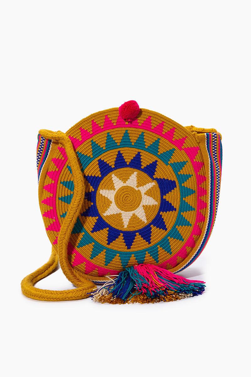 CHILA BAGS Campora M Round Bag - Print Bag | Print| CHILA BAGS Campora M Round Bag Front View