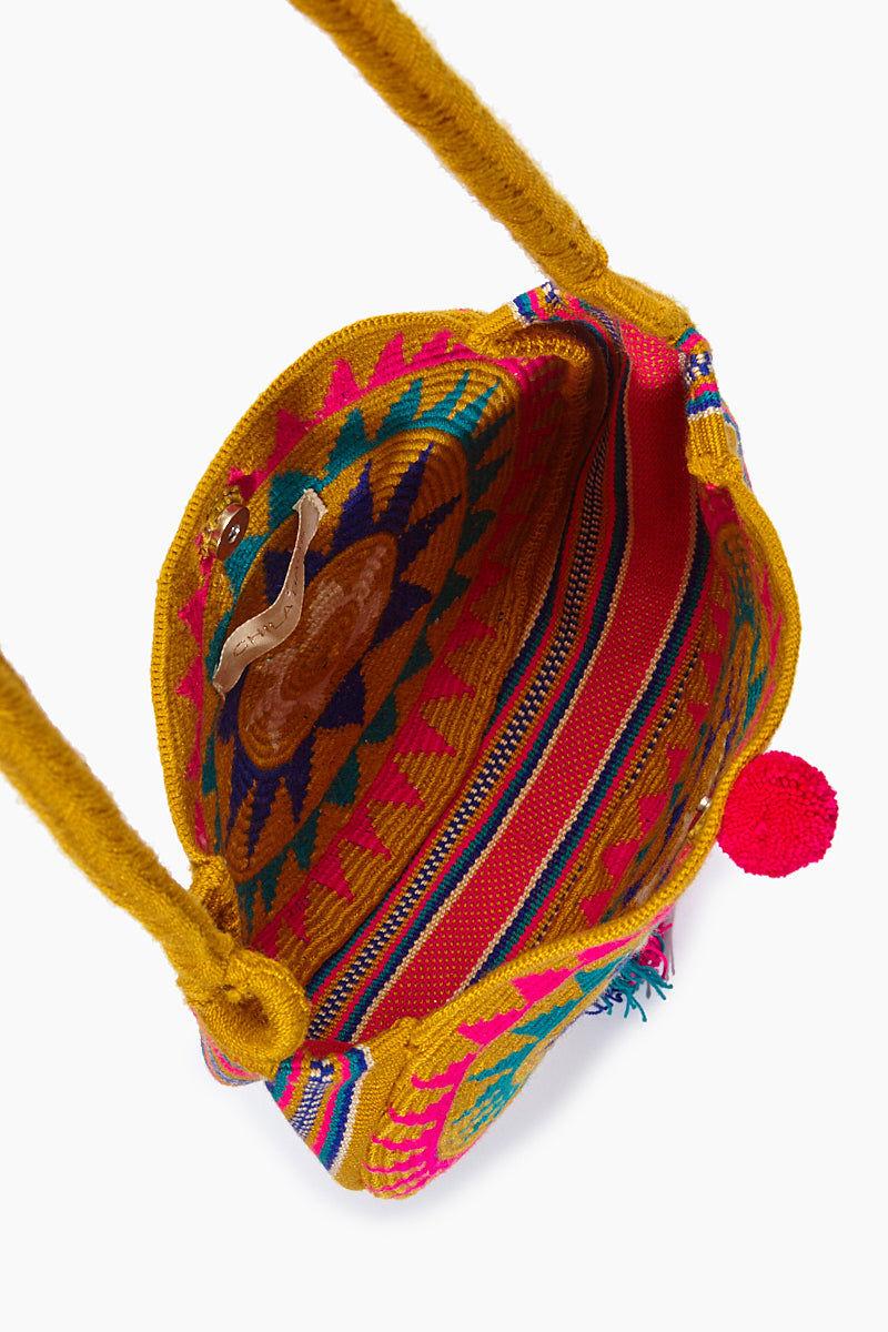CHILA BAGS Campora M Round Bag - Print Bag | Print| CHILA BAGS Campora M Round Bag Open View