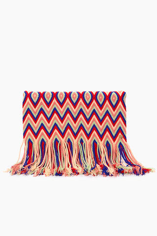 CHILA BAGS Aruba O Clutch - Print Bag | Print| CHILA BAGS Aruba O Clutch Front View