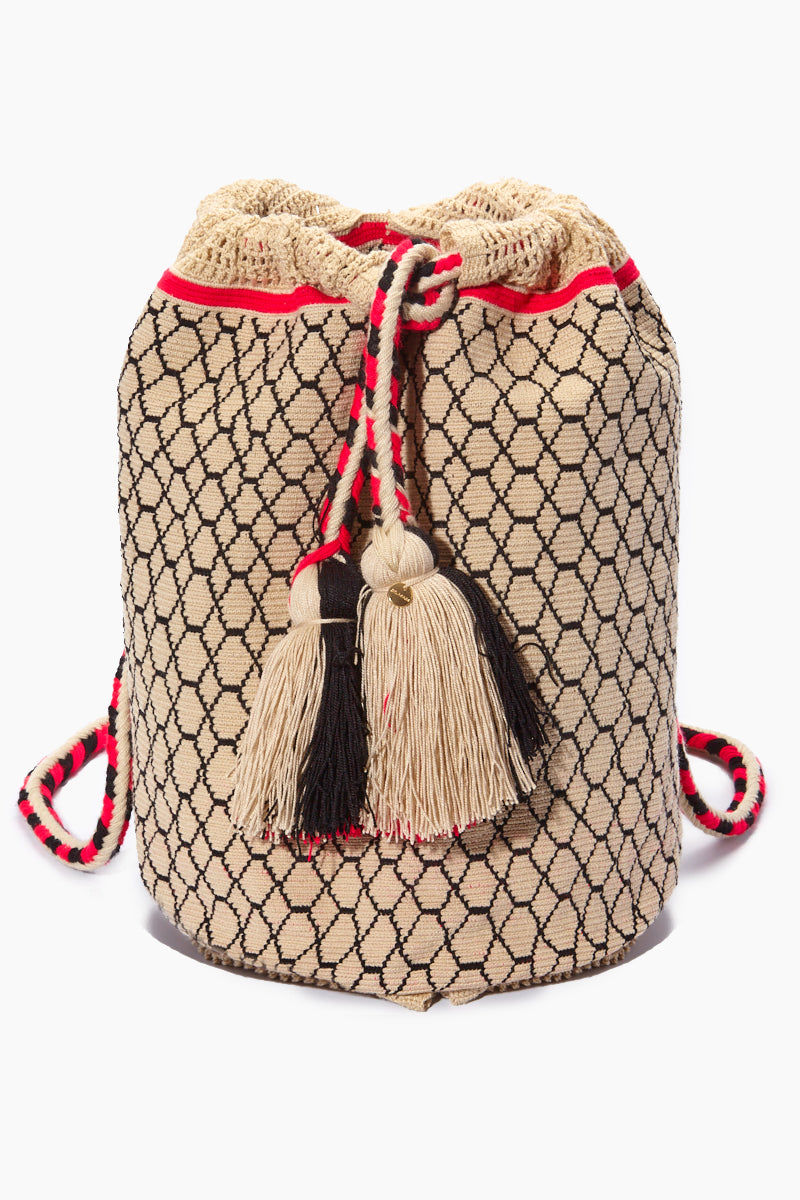 CHILA BAGS Lunero Backpack - Print Bag | Print| CHILA BAGS Lunero Backpack Front View