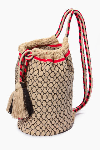 CHILA BAGS Lunero Backpack - Print Bag | Print| CHILA BAGS Lunero Backpack Side View