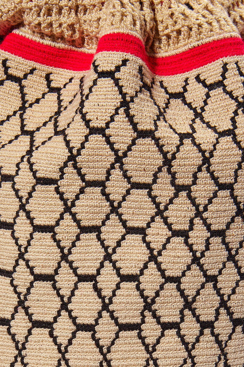 CHILA BAGS Lunero Backpack - Print Bag | Print| CHILA BAGS Lunero Backpack Detail View