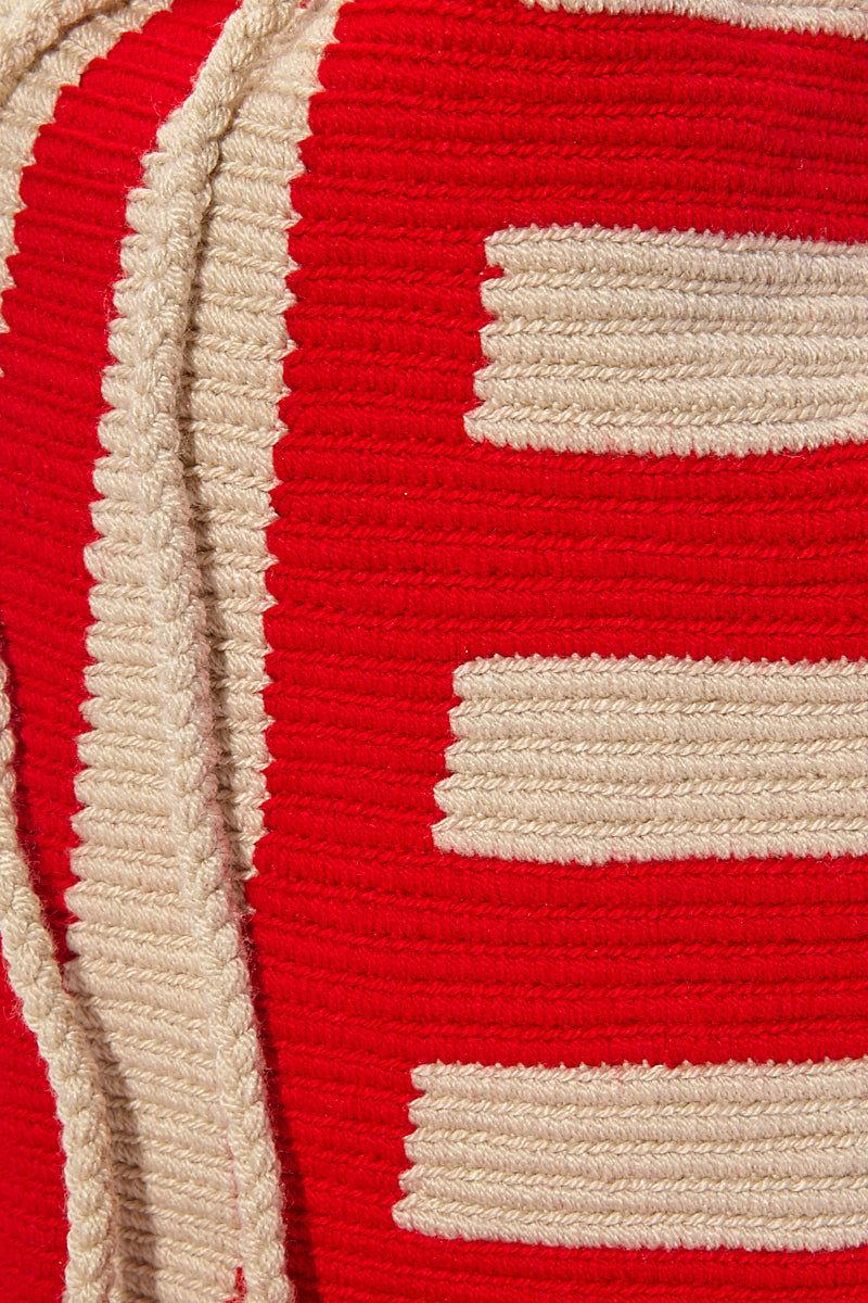 CHILA BAGS Baudo R Classic Bag - Red Bag | Red| CHILA BAGS Baudo R Bag Detail View