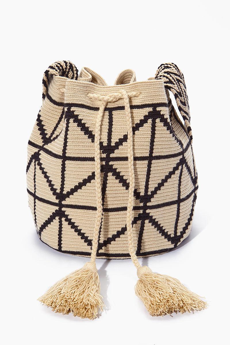 CHILA BAGS Cris B Classic Bag - Black/White Bag   Black/White  CHILA BAGS Cris B Classic Bag Front View
