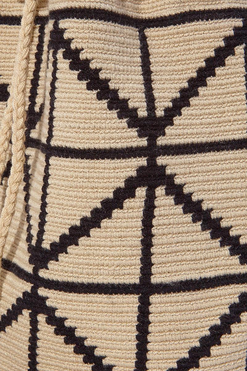 CHILA BAGS Cris B Classic Bag - Black/White Bag   Black/White  CHILA BAGS Cris B Classic Bag Detail View