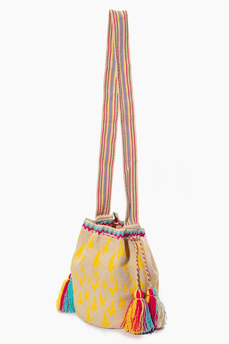 CHILA BAGS Macondo Special Edition Bag - Print Bag | Print| CHILA BAGS Macondo Special Edition Bag Side View