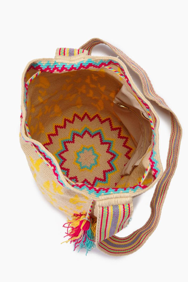 CHILA BAGS Macondo Special Edition Bag - Print Bag | Print| CHILA BAGS Macondo Special Edition Bag Open View