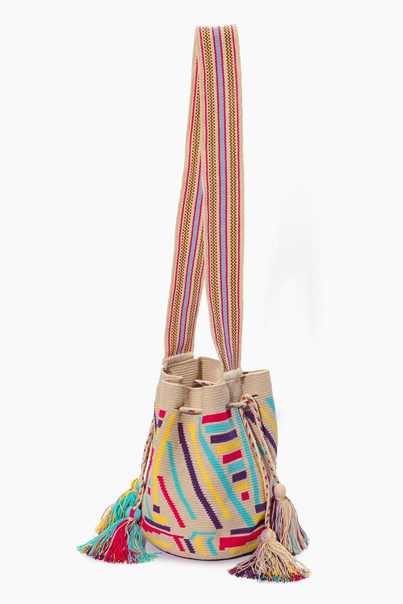 CHILA BAGS Pance Special Edition Bag - Print Bag | Print| CHILA BAGS Pance Special Edition Bag Side View