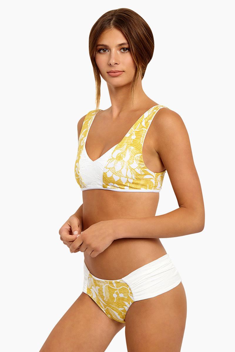 SEEA Milos Reversible Bikini Bottom - Bamboo Bikini Bottom | Milos Reversible Bikini Bottom - Bamboo