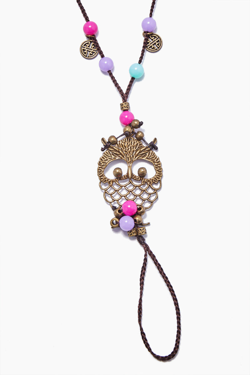 COCOBELLE Barefoot Sandals - Gypsy Jewelry | Gypsy| Cocobelle Barefoot Sandals - Gypsy. Features:  Gypsy vibe purple/blue beads with owl charms Chic barefoot sandals Look great at poolside, yoga class, beach wedding Barefoot or paired with other shoes One size fits all Front View