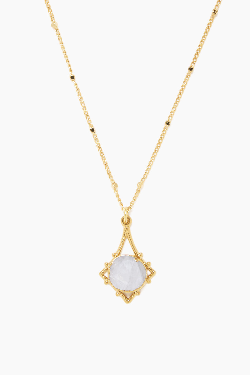 """LUX DIVINE Tempest Necklace - Snow White Jewelry 
