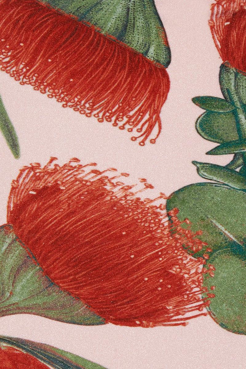 ADRIANA DEGREAS Twisted Bralette Bikini Top - Fiore Rose Print Bikini Top | Fiore Rose Print| Adriana Degreas Twisted Bralette Bikini Top - Fiore Rose Print. Features:  Twisted up front Bralette style Main: 85% Polyamide 15% Spandex Front View