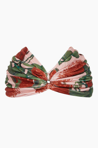 ADRIANA DEGREAS Turban - Fiore Rose Print Hair Accessories | Fiore Rose Print| Adriana Degreas Turban - Fiore Rose Print. Features:  Crafted from stretch fabric Open in the front Main: 85% Polyamide 15% Spandex Front View