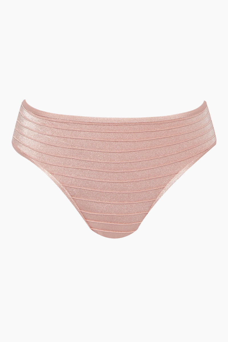 ADRIANA DEGREAS Hipster Bikini Bottom - Light Pink Bikini Bottom | Light Pink| Adriana Degreas Hipster Bikini Bottom - Light Pink Hipster style  Moderate coverage Front View