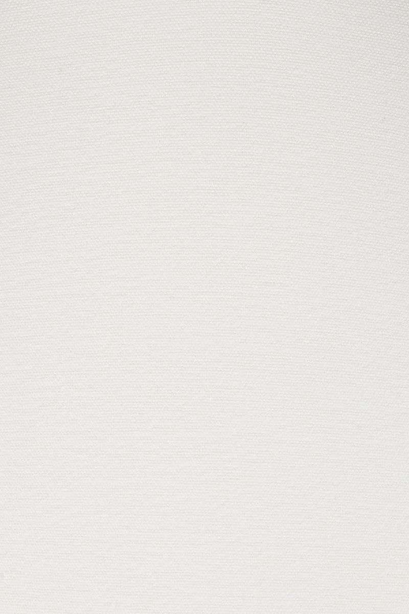 CLUBE BOSSA Laven Ruffle Cheeky Bikini Bottom - Off White Bikini Bottom | Off White| Clube Bossa Laven Ruffle Cheeky Bikini Bottom - Off White Hipster  Side ruffle detail Cheeky coverage  Front View