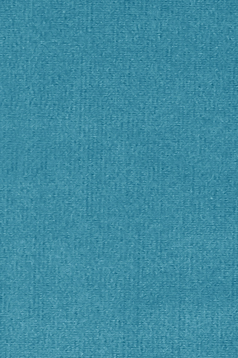 AGUA DE COCO Padded Halter Bikini Top - Teal Blue Bikini Top | Teal Blue| Agua De Coco Padded Halter Bikini Top - Teal Blue Teal blue bikini top Triangle Halter neck tie Back tie closure Padding Front View