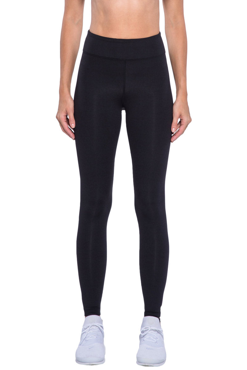KORAL Primary High Rise Legging - Black Leggings | Black| KORAL Primary High Rise Legging Front View