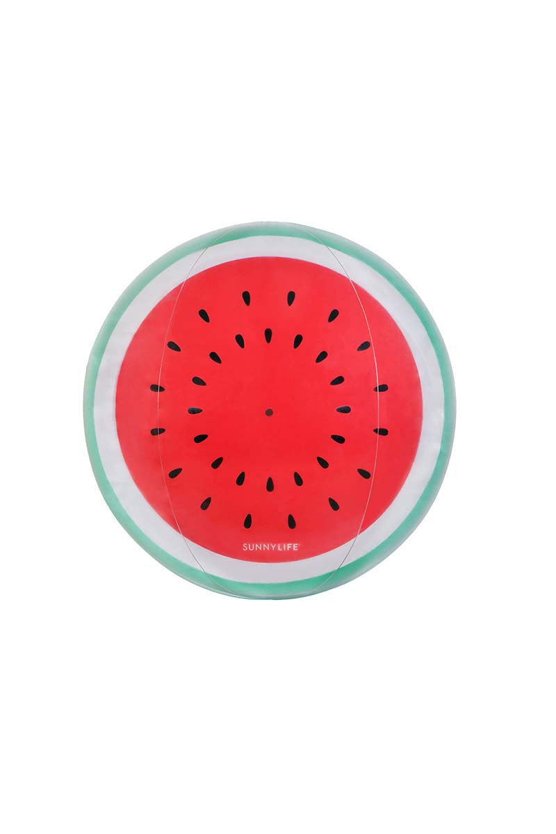 SUNNYLIFE XL Inflatable Watermelon Ball Pool Accessories | Watermelon| sunnylife inflatable watermelon ball