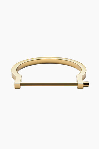 MIANSAI Modern Screw Cuff - Gold Jewelry | Gold|