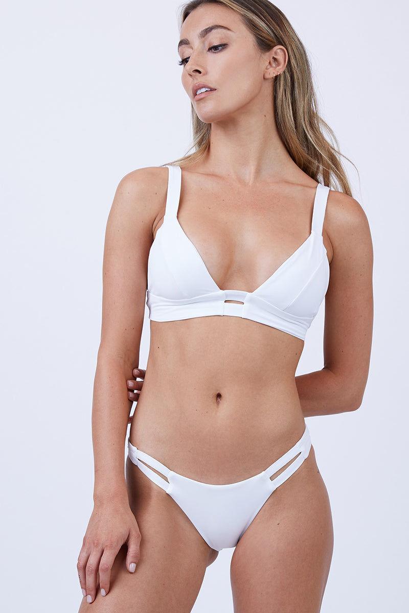 c112f9f1998555 ... VITAMIN A Neutra Bralette Top - White Bikini Top