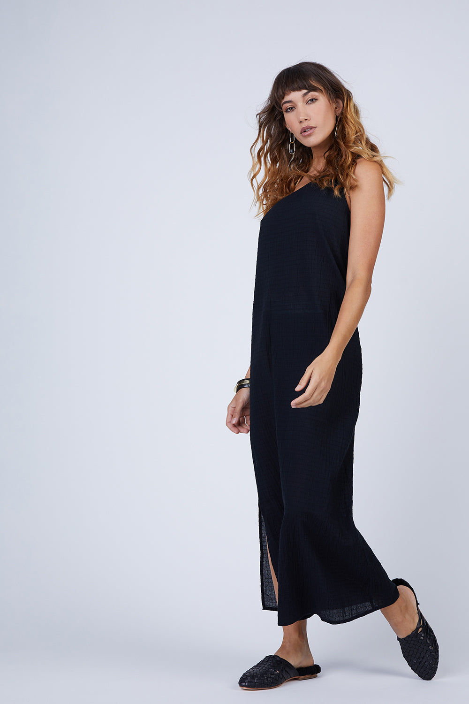 ce56695fe24 MARA HOFFMAN Camilla One Shoulder Dress - Black | BIKINI.COM