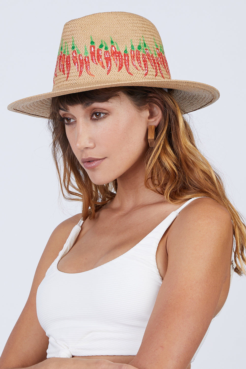 Rosa Panama Hat - Red Hot Chili Peppers