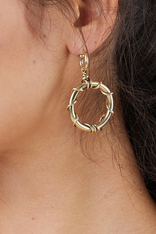 SOKO JEWELRY Kamba Dangle Earrings - Brass Jewelry | Brass|Soko Jewelry Kamba Dangle Earrings - Brass
