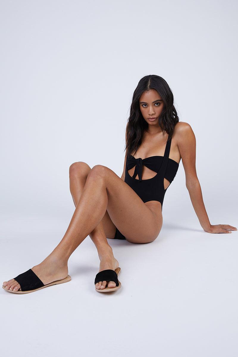 da316f9c27708 ... NORMA KAMALI Suspender Marissa Bikini Bottom - Black Bikini Bottom |  Black| Norma Kamali Suspender ...