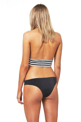 ZIGILANE Dressed Myself Hipster Bikini Bottom - Black Bikini Bottom | Black| Zigilane Dressed Myself Hipster Bikini Bottom - Black Thick, lined fabric Minimal coverage 72% Microfiber Nylon, 28% Spandex Back View