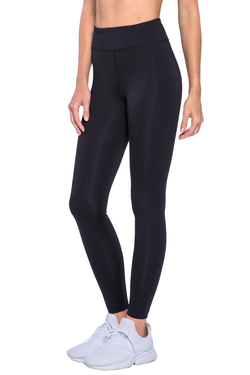 KORAL Primary High Rise Legging - Black Leggings | Black| KORAL Primary High Rise Legging Side View
