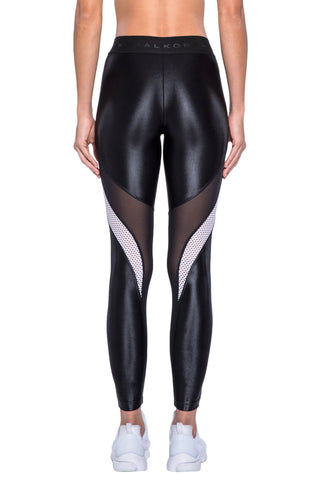 KORAL Frame Legging - Black Leggings | Black| KORAL Frame Legging Back View