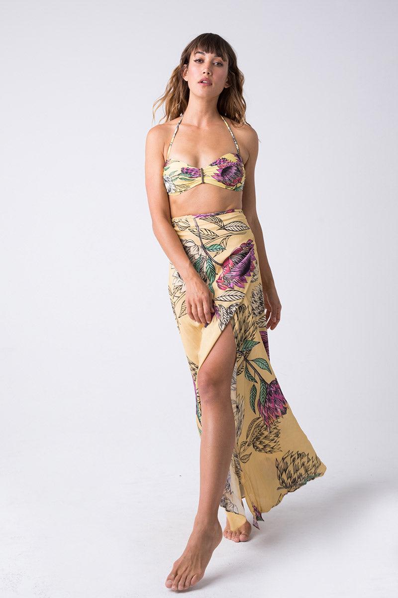a9e5b611dcd TRIYA Long Pareo Skirt - Floral Tropical | BIKINI.COM