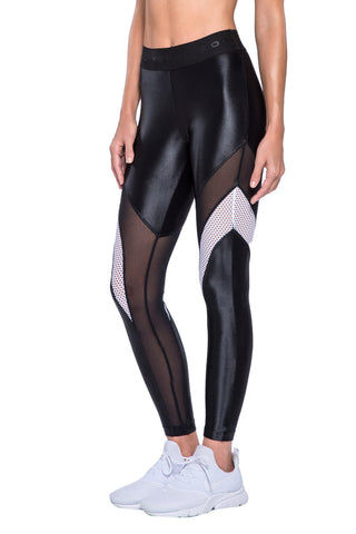 KORAL Frame Legging - Black Leggings | Black| KORAL Frame Legging Side View