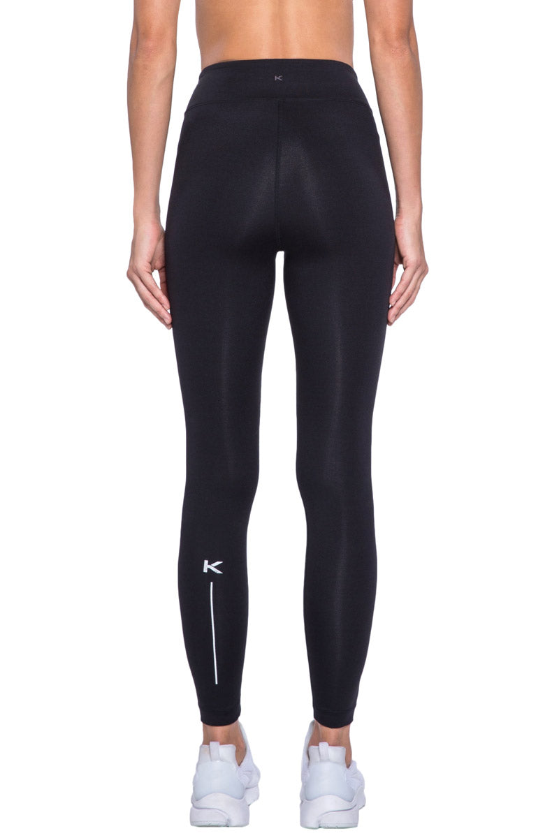 KORAL Primary High Rise Legging - Black Leggings | Black| KORAL Primary High Rise Legging Back View