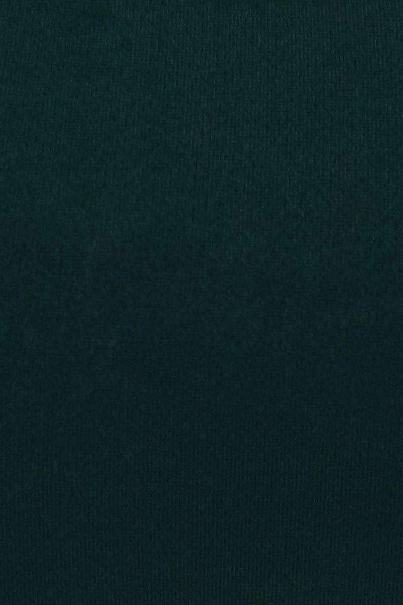 THE ONES WHO Madeline Convertible Halter Sweetheart Bandeau Bikini Top - Emerald Green Bikini Top | Emerald Green| The Ones Who Madeline Convertible Halter Sweetheart Bandeau Bikini Top - Emerald Green Sweetheart bandeau  Removable halter strap  Back tie closure Boning side detail No padding  Made in LA 80% Nylon 20% Elastane  Front View