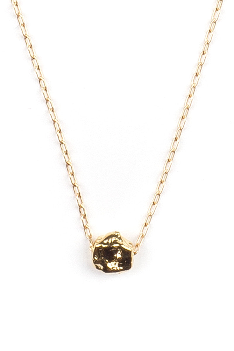 MAILEE Little Nugget Necklace Jewelry | Gold|