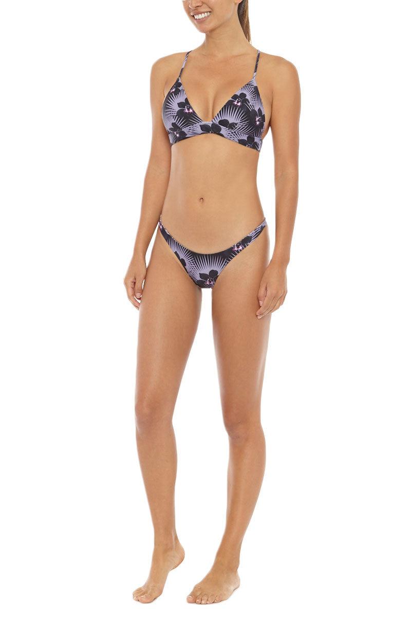 ACACIA Awapui Criss Cross Bralette Bikini Top - Modern Pacific Bikini Top | Modern Pacific| Acacia Awapui Bikini Top