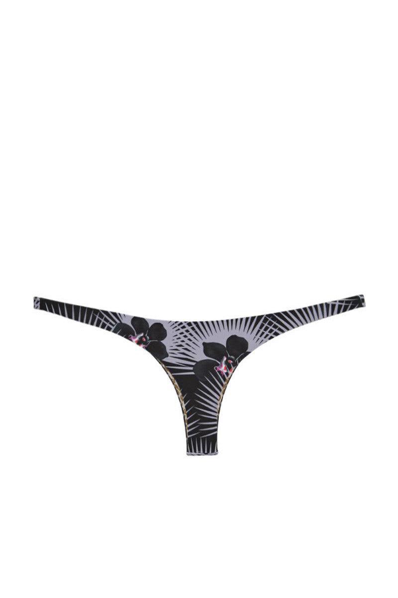 ACACIA Pipeline Thong Bikini Bottom - Modern Pacific Print Bikini Bottom | Modern Pacific Print| Acacia Pipeline Bikini Bottom - Modern Pacific Print Very minimal coverage Double lined Imported Italian Nylon/Spandex  Front View