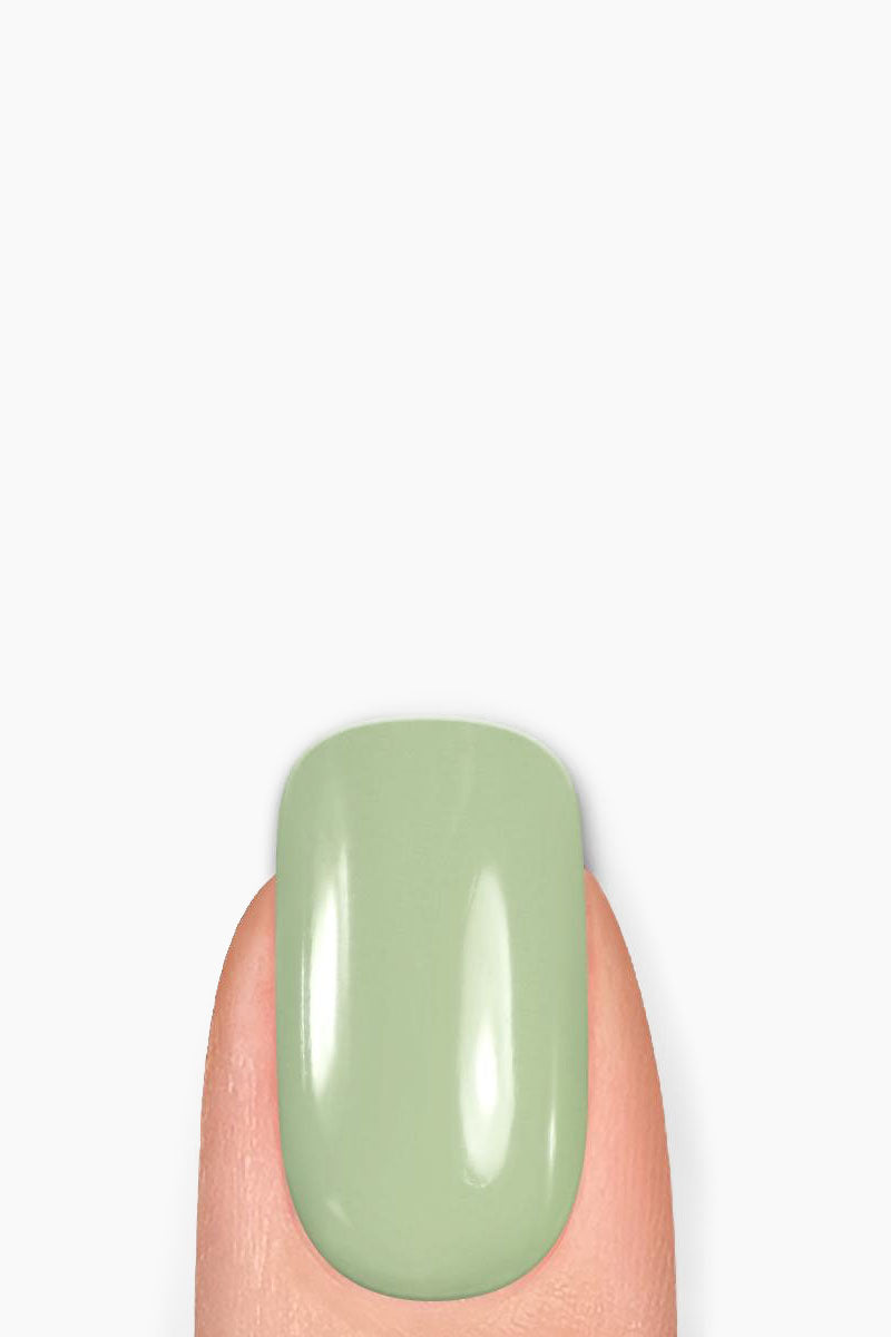 LONDONTOWN Aces High Nail Polish - Pistachio Mint Green Nails | Green| LONDONTOWN Aces High Nail Polish - Green. Features: As ace as its name, this pistachio mint green has the perfect glossy crème finish. Give your nails the good stuff. Florium Complex infused Lakur takes color to the next level by fusing bold hues with enriching botanicals to deliver long-lasting., high-shine wear that hydrates and strengthens with every application. Don't choose between nail care and color, pick both.     Made in USA 9-Free, Cruelty-Free, Vegan